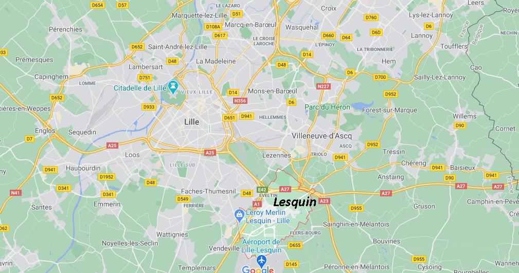 Dans quelle région se trouve Lesquin