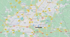 Dans quelle région se trouve Lezennes