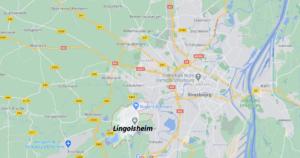 Dans quelle région se trouve Lingolsheim