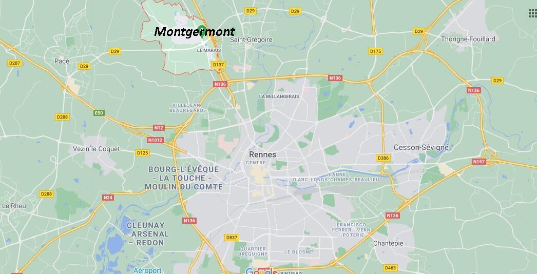 Dans quelle région se trouve Montgermont