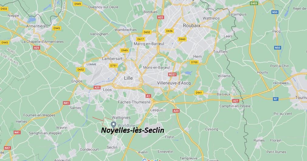 Dans quelle région se trouve Noyelles-lès-Seclin