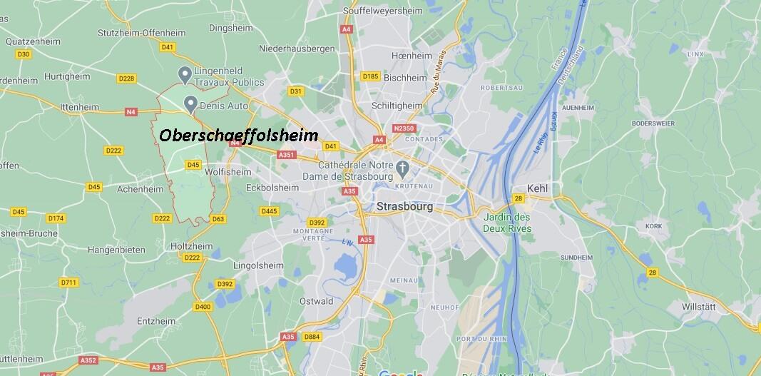 Dans quelle région se trouve Oberschaeffolsheim
