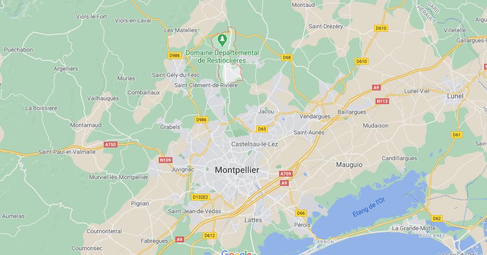 Dans quelle région se trouve Prades-le-Lez