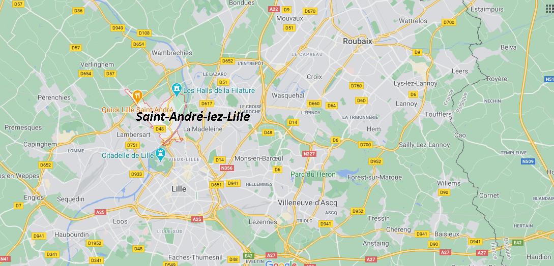 Dans quelle région se trouve Saint-André-lez-Lille