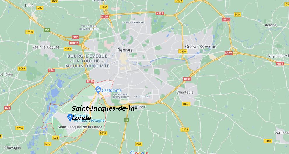 Dans quelle région se trouve Saint-Jacques-de-la-Lande