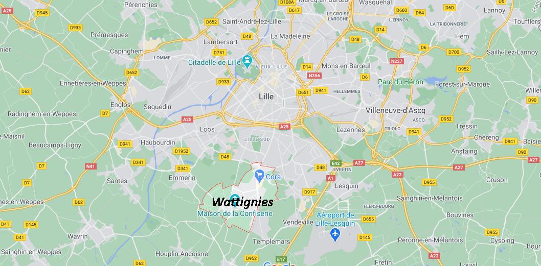 Dans quelle région se trouve Wattignies