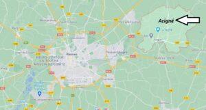 Où se situe Acigné (35690)