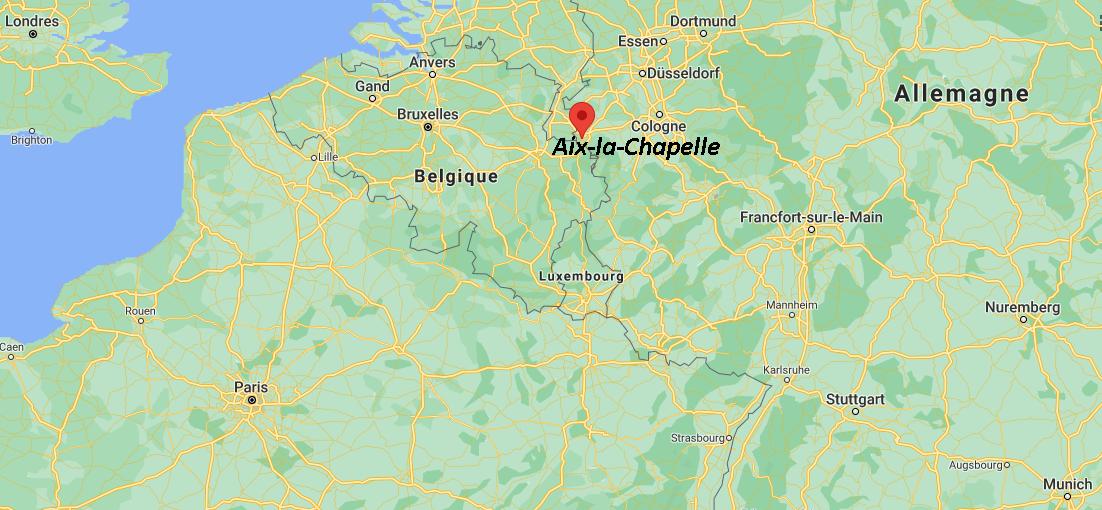 Où se situe Aix-la-Chapelle