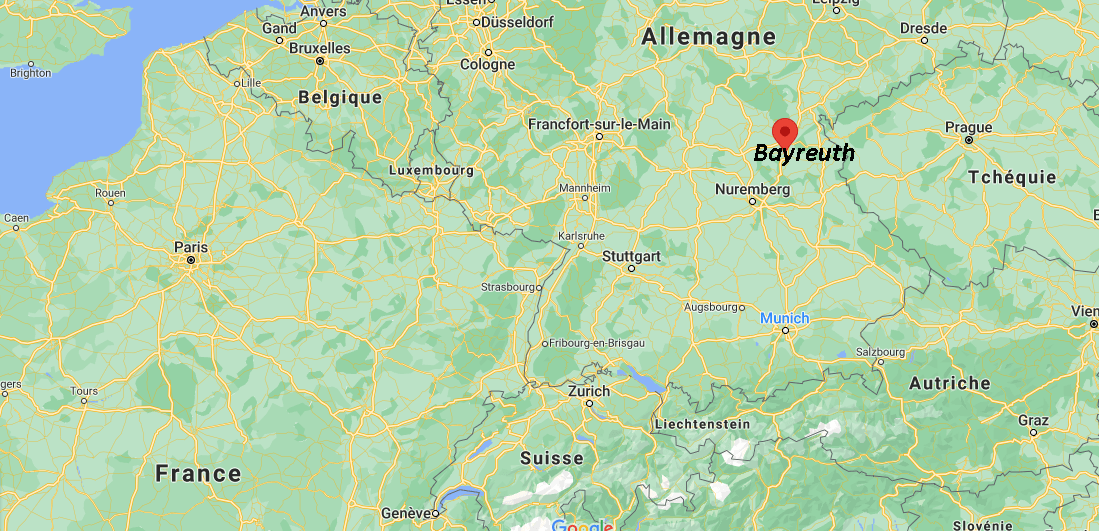 Où se situe Bayreuth
