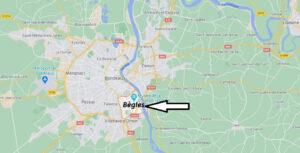Où se situe Bègles (33039)