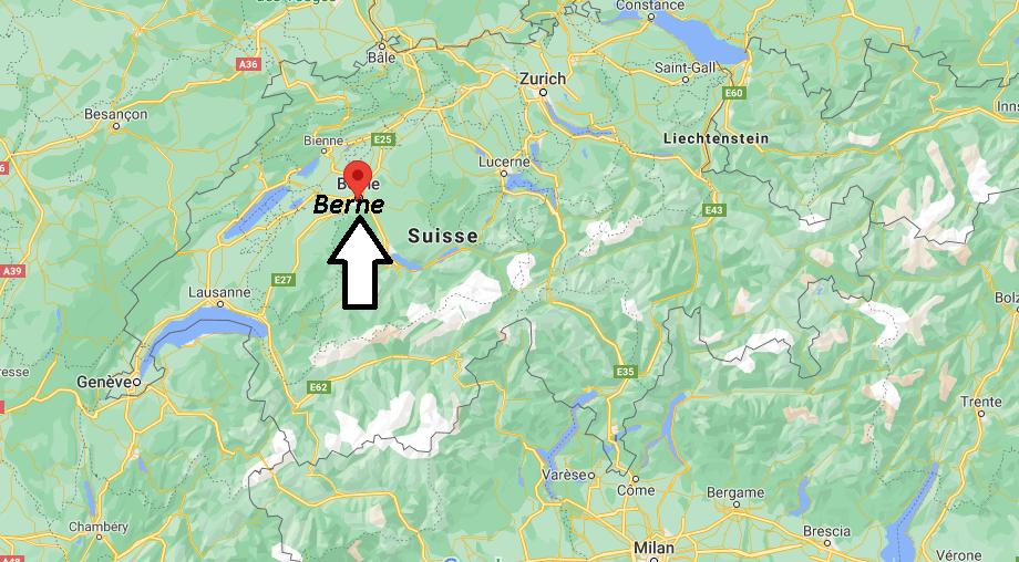 Où se situe Berne