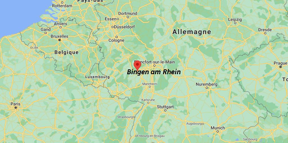 Où se situe Bingen am Rhein