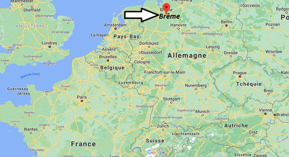 Où se situe Brême