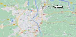 Où se situe Carbon-Blanc (33560)
