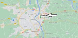 Où se situe Cenon (33150)