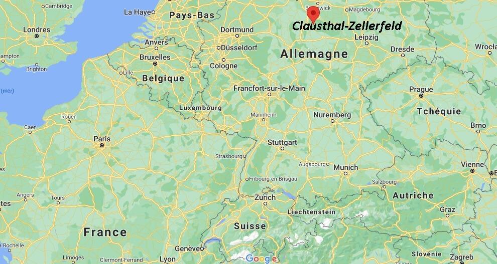 Où se situe Clausthal-Zellerfeld