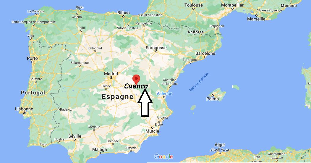 Où se situe Cuenca