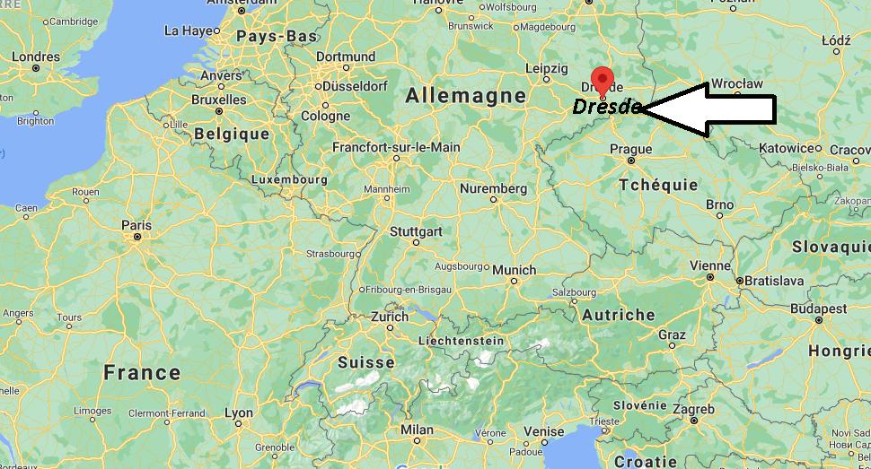 Où se situe Dresde