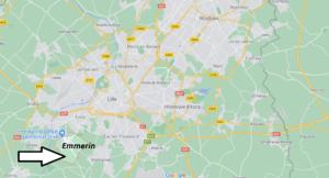 Où se situe Emmerin (59320)