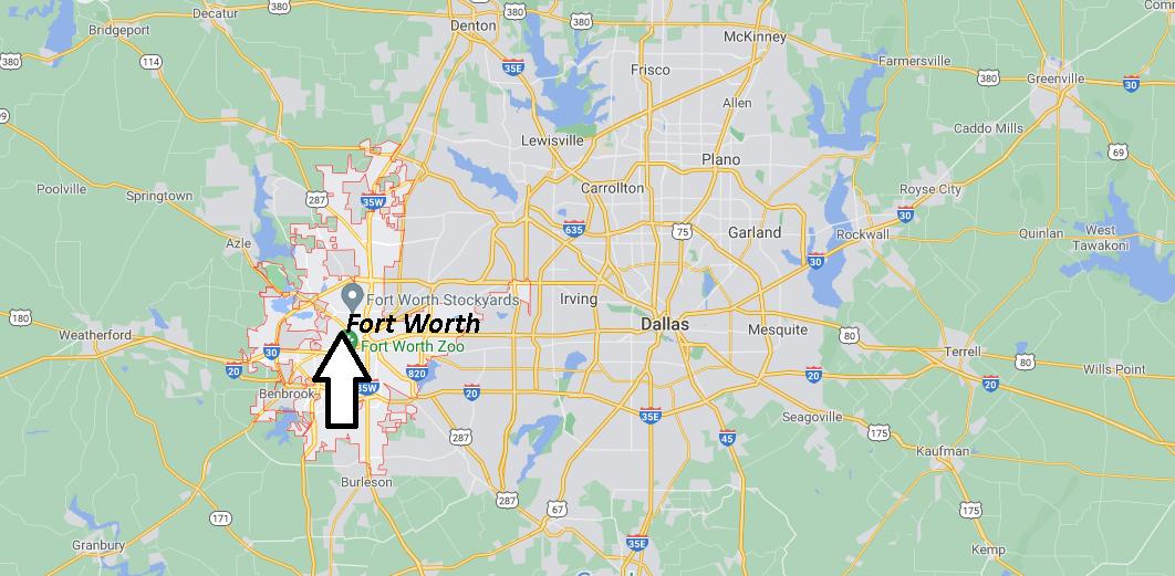 Où se situe Fort Worth