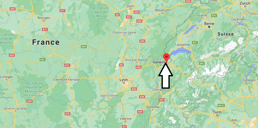 Où se situe Genève