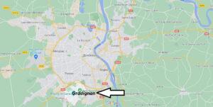 Où se situe Gradignan (33170)