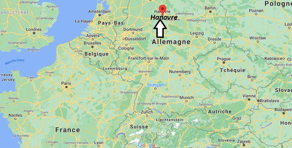 Où se situe Hanovre