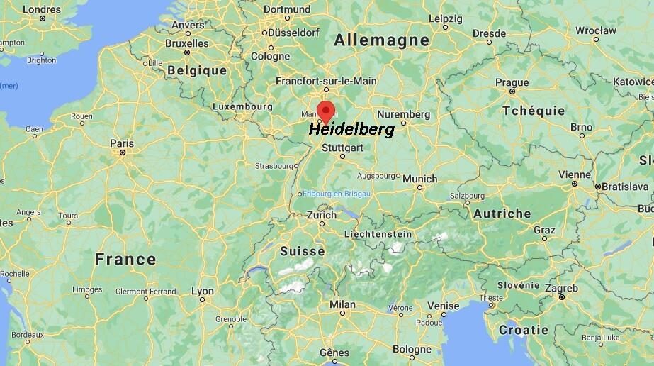 Où se situe Heidelberg