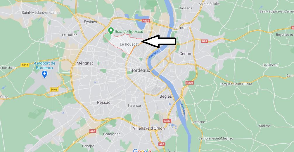 Où se situe Le Bouscat (33110)