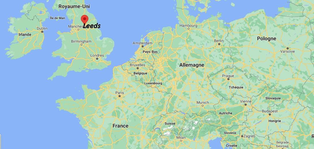 Où se situe Leeds