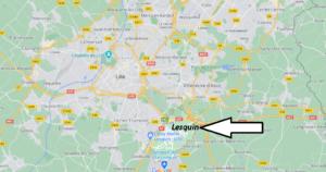 Où se situe Lesquin (59810)