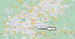 Où se situe Lezennes (59346)
