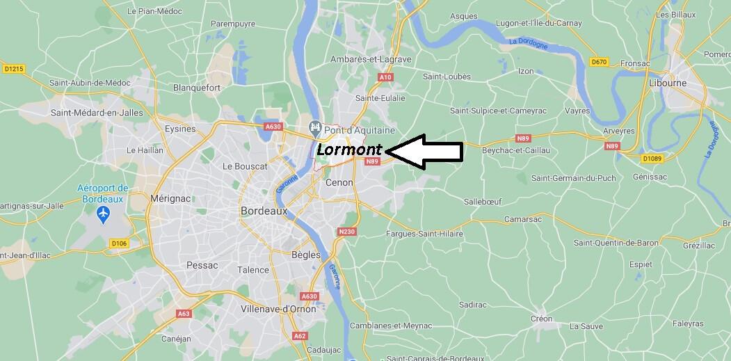 Où se situe Lormont (33310)