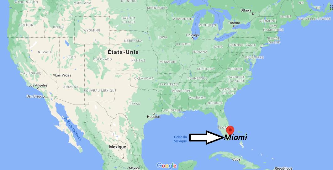Où se situe Miami