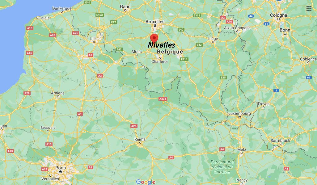 Où se situe Nivelles