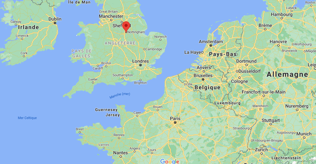Où se situe Nottingham