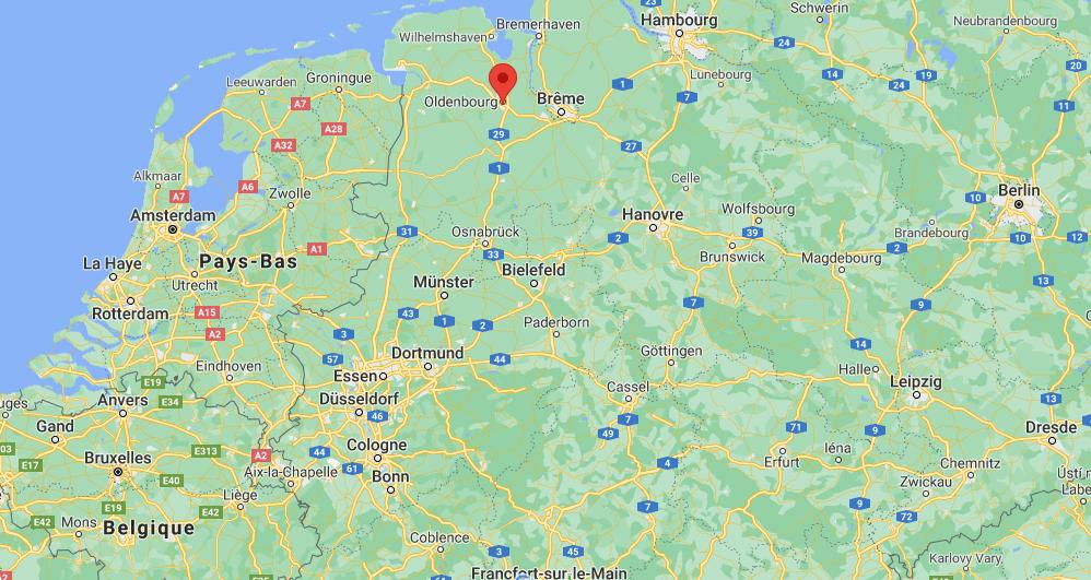 Où se situe Oldenburg