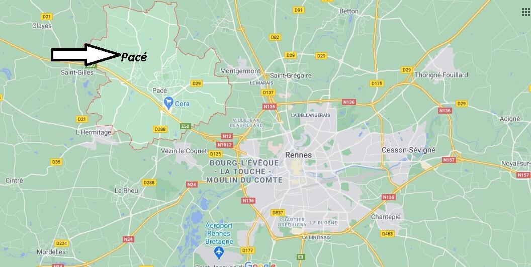 Où se situe Pacé (35740)