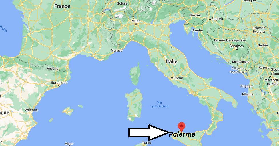 Où se situe Palerme