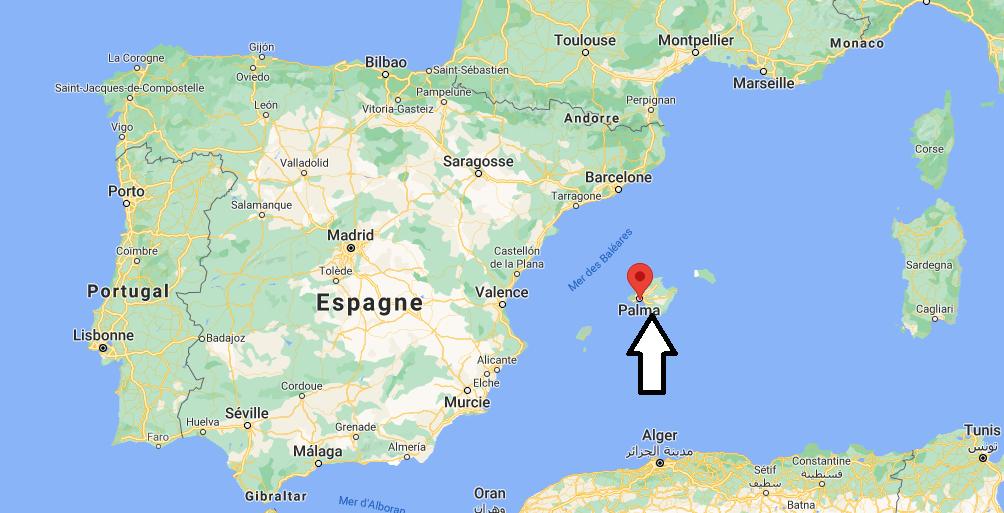 Où se situe Palma de Mallorca