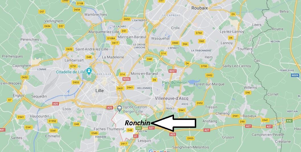 Où se situe Ronchin (59790)