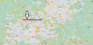 Où se situe Saint-André-lez-Lille (59350)