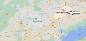 Où se situe Saint-Aunès (34130)