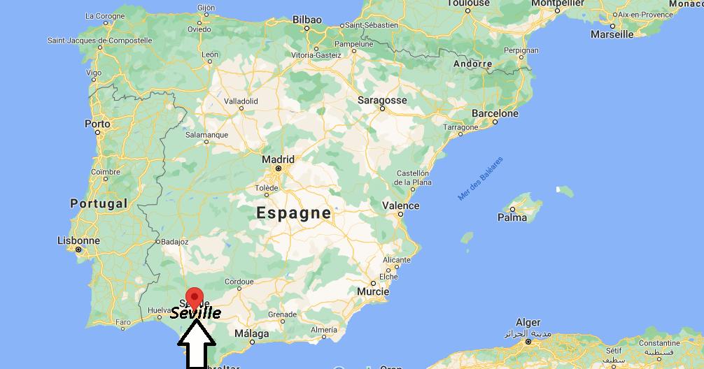 Où se situe Séville