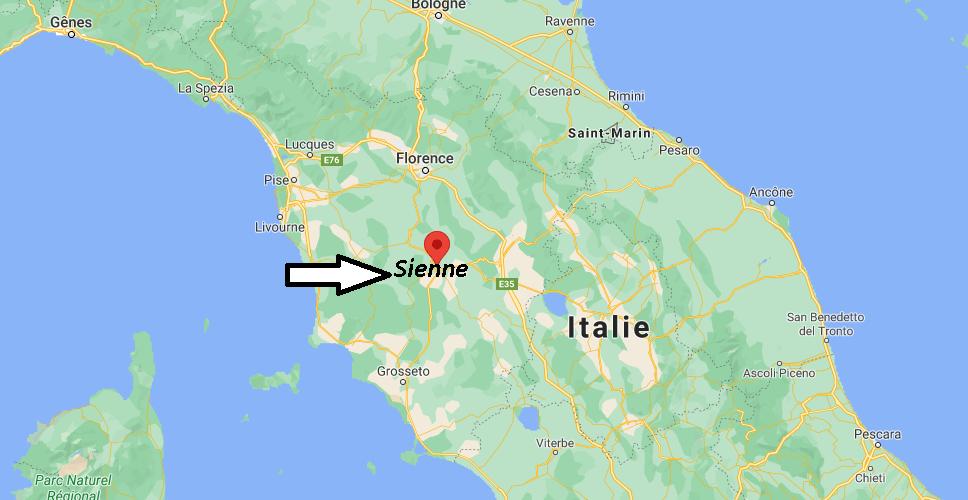 Où se situe Sienne