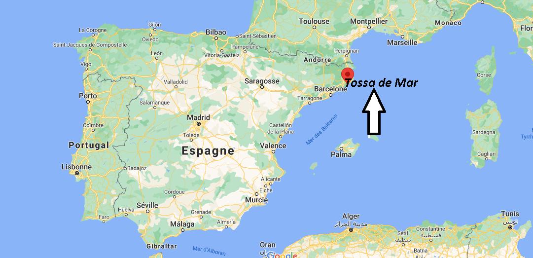Où se situe Tossa de Mar