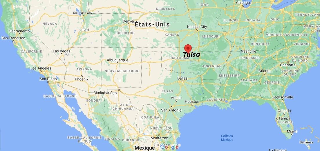 Où se situe Tulsa