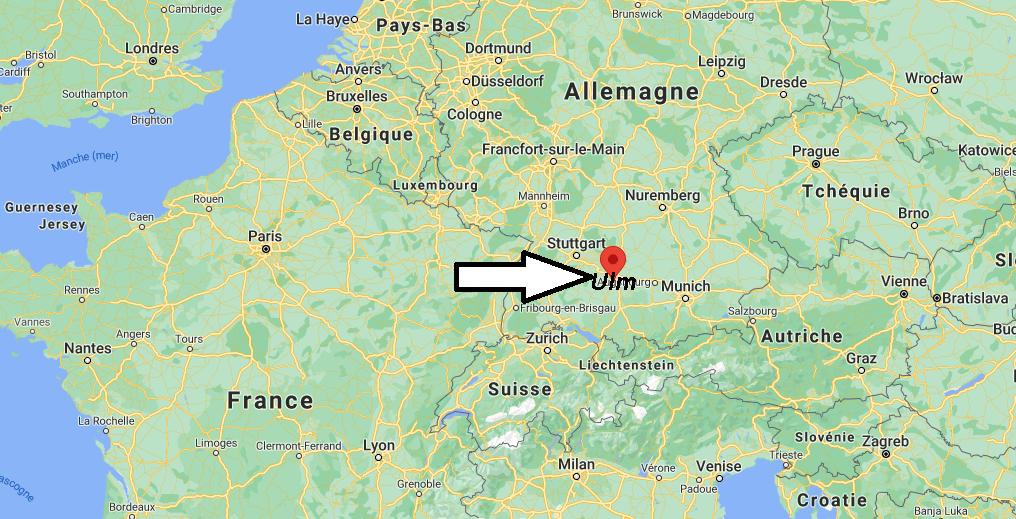 Où se situe Ulm