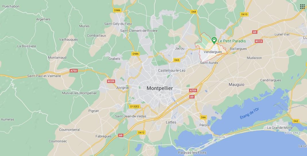 Où se situe Vendargues (34740)