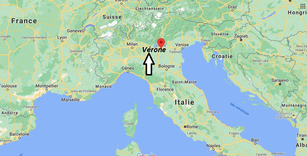 Où se situe Vérone